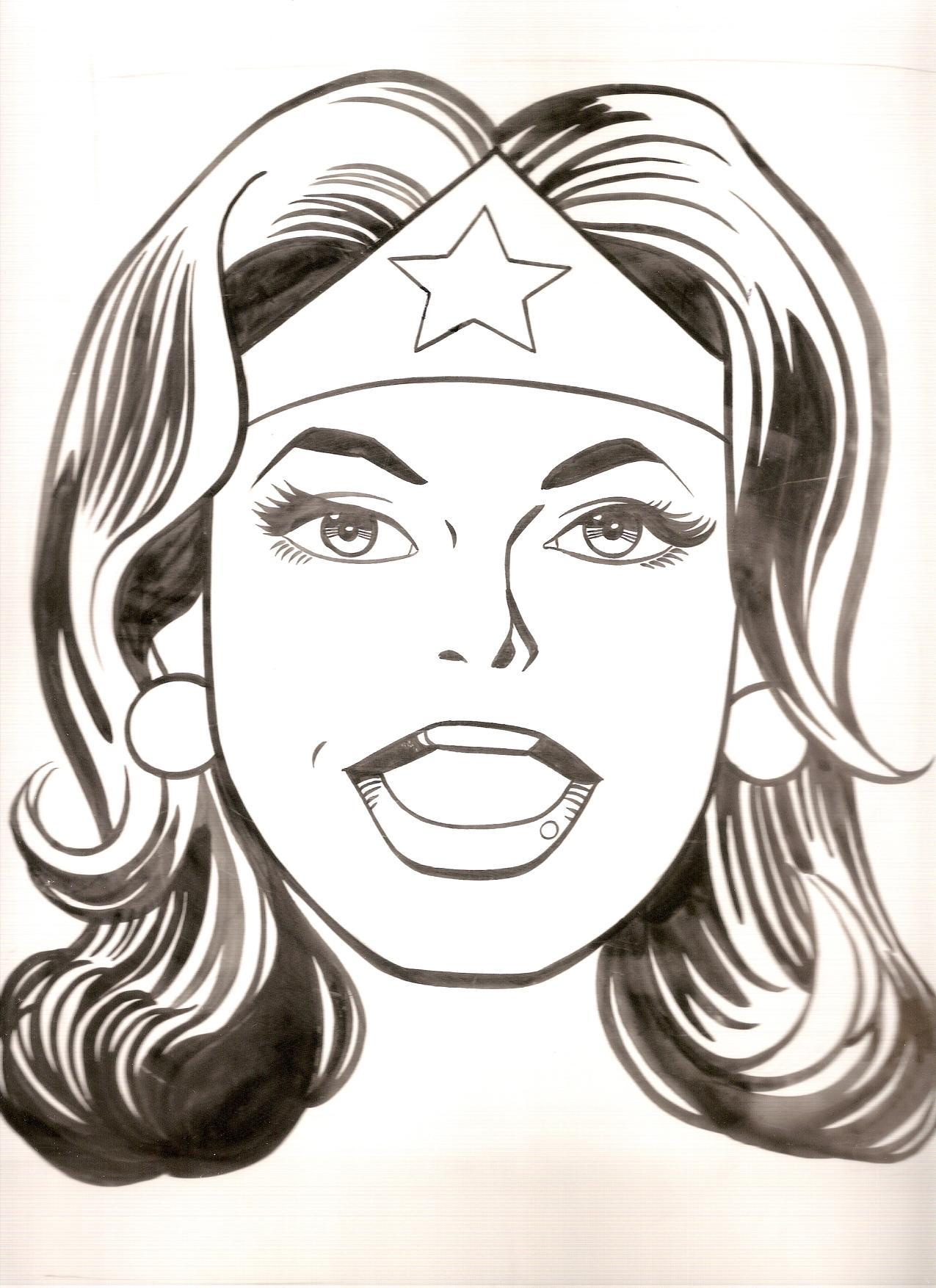 Coloring pages wonder woman - Wonder Woman Giordano